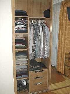 Hacer interiores de armario for Distribucion de armarios empotrados por dentro