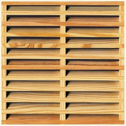 Celosias de madera pvc y polietileno for Celosias en madera