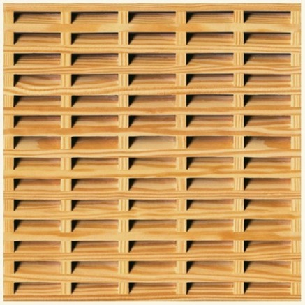 Celosias de madera pvc y polietileno for Molduras madera leroy merlin