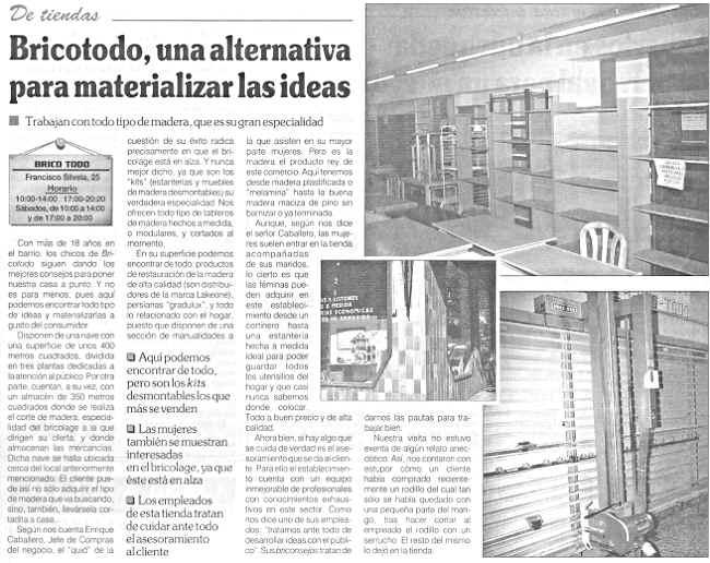 Prensa for Ferreteria barrio salamanca